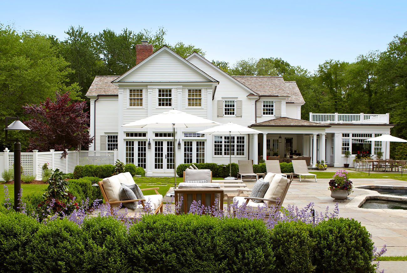 The LaurelRock Company - Residential Landscaping in CT - Hollow Tree Ridge - Back After - Outdoor Living